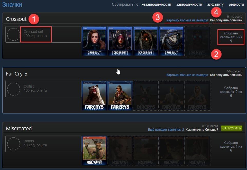 Платная прокачка уровня профиля Steam